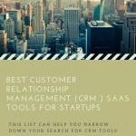 Best Saas CRM Tools